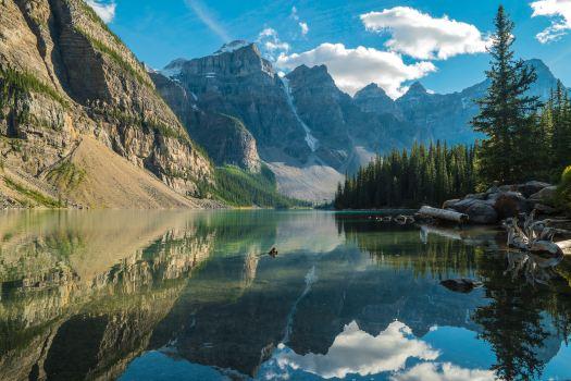 Un bel lago montano