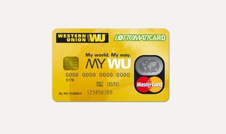 The first step to creating a western union account is to visit the western union website. Western Union, Lottomatica and MasteCard Introduce Prepaid ...