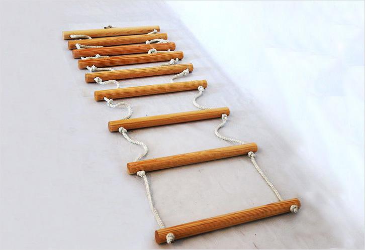 Come fare una scala a corda con le tue mani