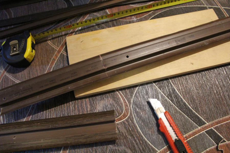 Vágja le a kívánt méretű tételt egy hagyományos írószer késsel
