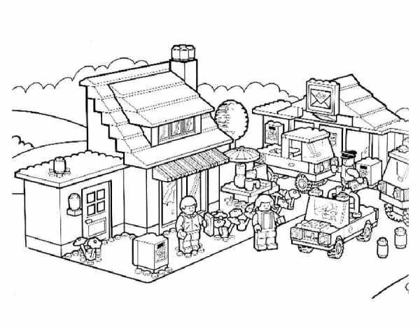 Раскраски для мальчиков Лего. Распечатать картинки LEGO