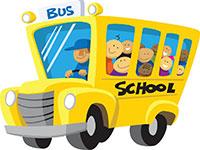 Автобус раскраска для детей, распечатать картинки с автобусами
