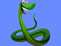Раскраски змеи. Распечатать картинки со звеями.