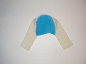 сшиваем верхнюю и переднюю части