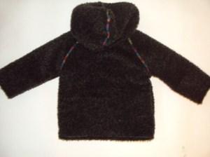 готовая куртка вид сзади
