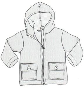 модель куртки