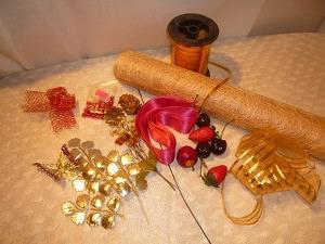 материал для елки из сизаля