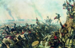 картина конец бородинского сражения