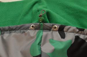 готовый капюшон детской куртки