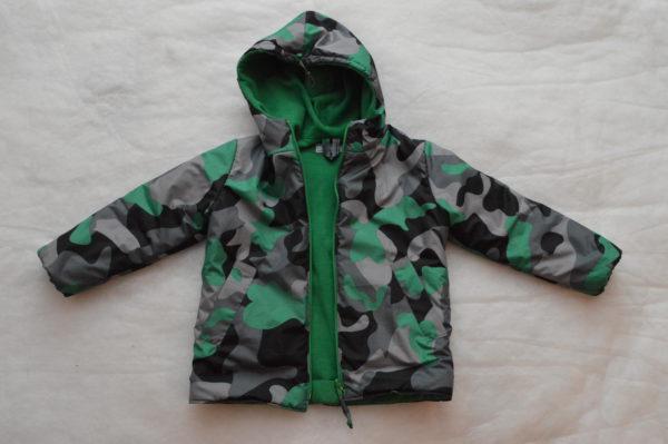 осенняя детская куртка вид спереди