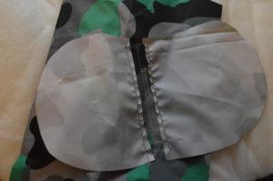 пришиваем мешковины кармана