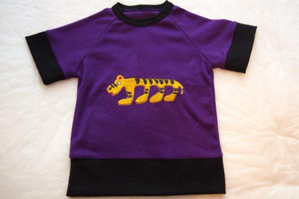 готовая детская футболка с короткими рукавами