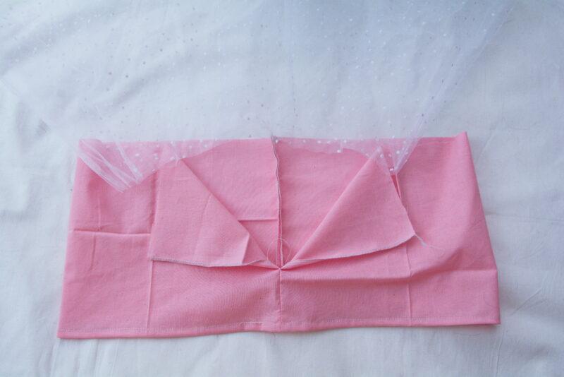 подкладка и сетка детского платья