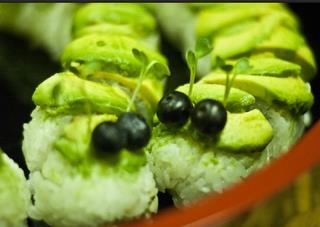 caterpillar sushi image