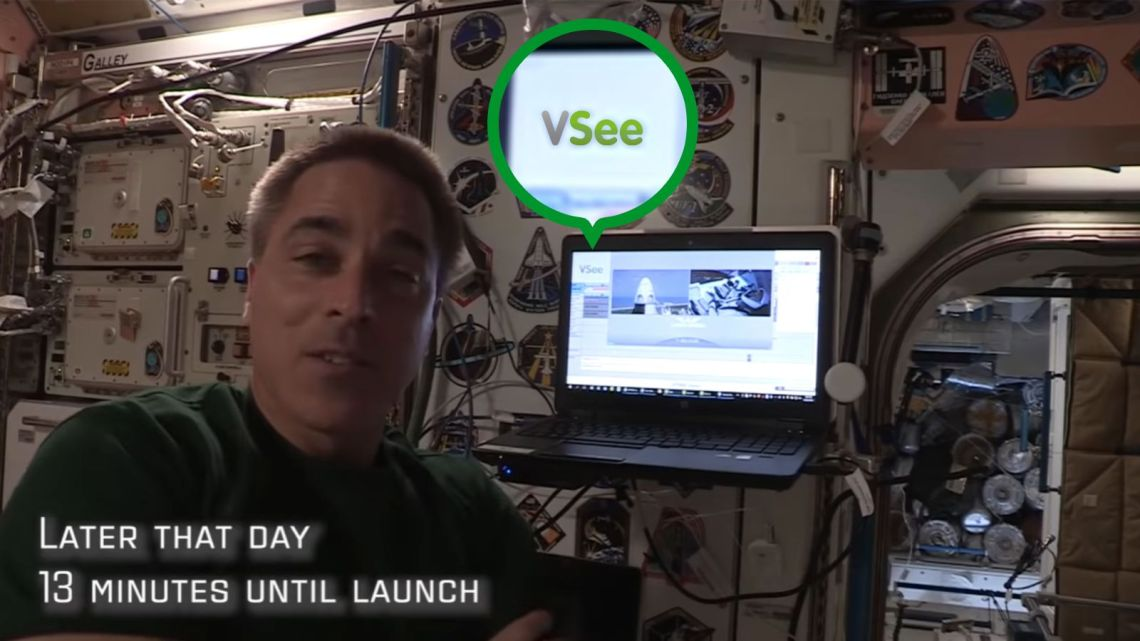 VSee for NASA SpaceX docking