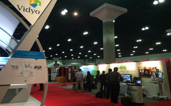 Lonely Nights for Vidyo at ATA 2015 Exhibition