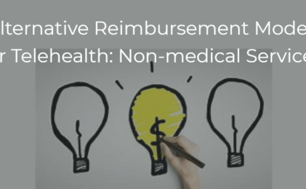 Telehealth Reimbursement Models for Non-medical Services