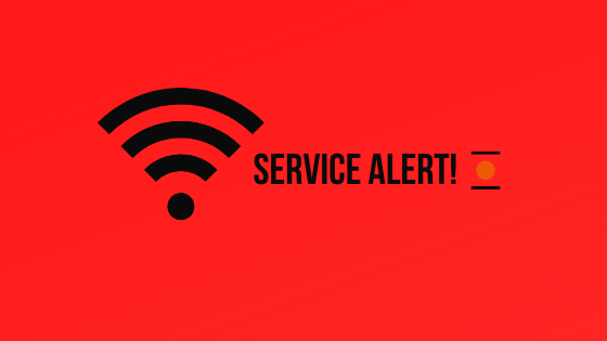 service alert banner