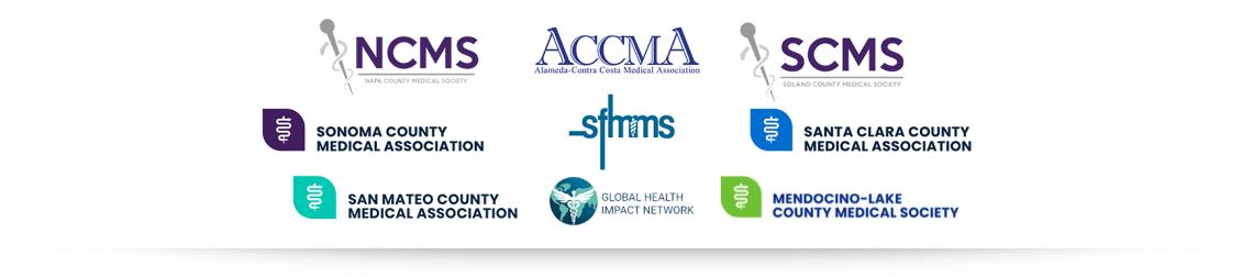 NorCal medical society logos