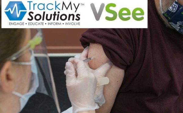 VSee and TrackMy Solutions Partner To Streamline COVID-19 Vaccine Tracking + Patient Engagement