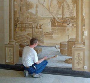 Строй-материалы для ремонта - декоративная штукатурка