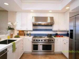 Эко стиль в интерьере кухни-1
