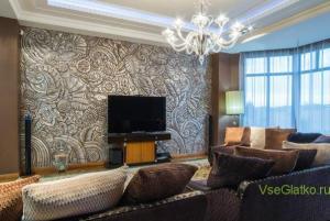 Стиль Арт-деко в интерьере гостиной-1