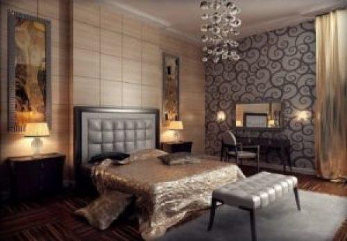 Стиль Арт-деко в интерьере спальной-1