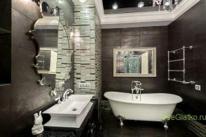 Стиль Арт-деко в интерьере ванной-1