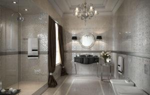 Стиль Арт-деко в интерьере ванной-2