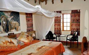 Африканский стиль в интерьере спальной-1