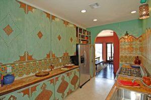 Индийский стиль в интерьере кухни-1