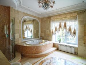 Классический стиль в интерьере ванной-1