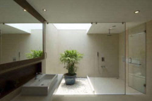 Стиль Минимализм в интерьере ванной-2
