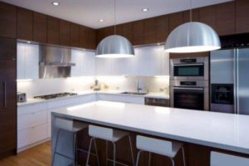 Стиль Модерн в интерьере кухни-2