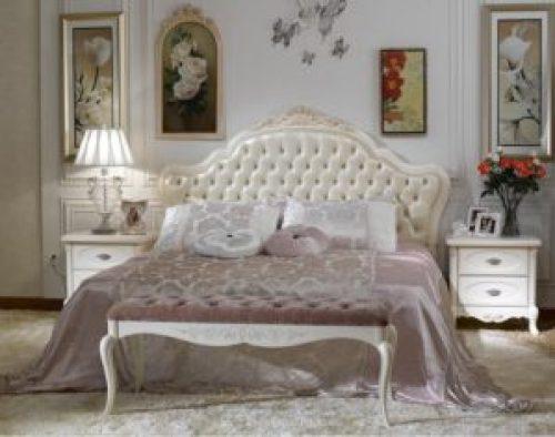 Стиль Прованс в интерьере спальной-2