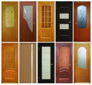 Фото видов межкомнатных дверей
