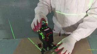 Нивелир лазерный с зеленым лучем