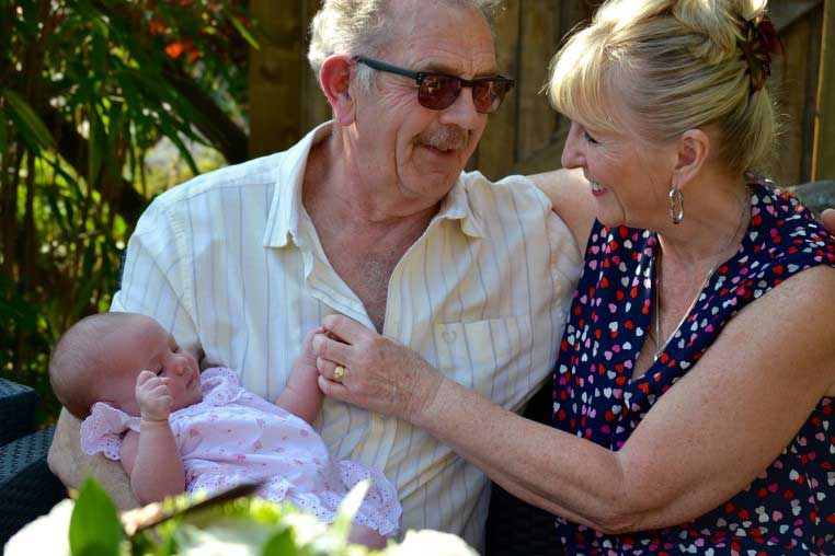 Децата, отрасли при баба и дядо са по-щастливи