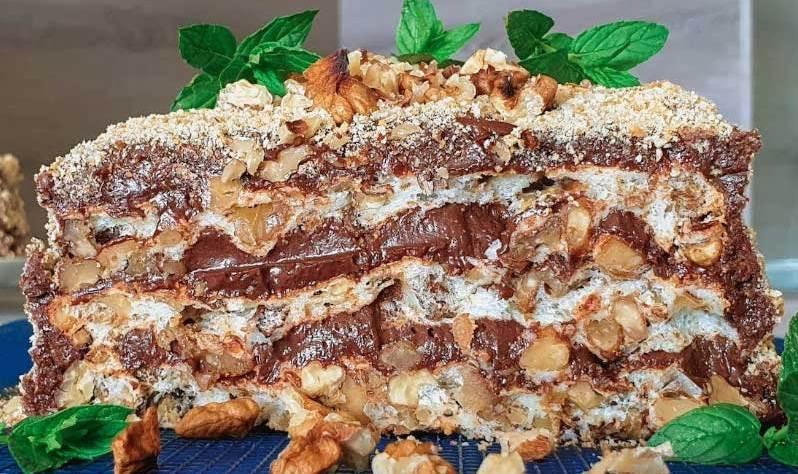 кралска орехова торта