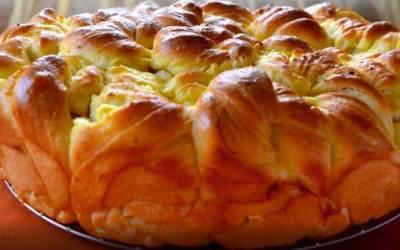Пухкава и вкусна домашна питка