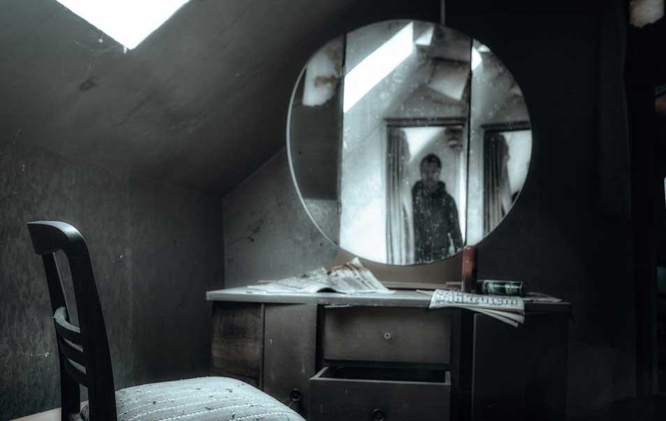 Огледалата се покриват при смърт