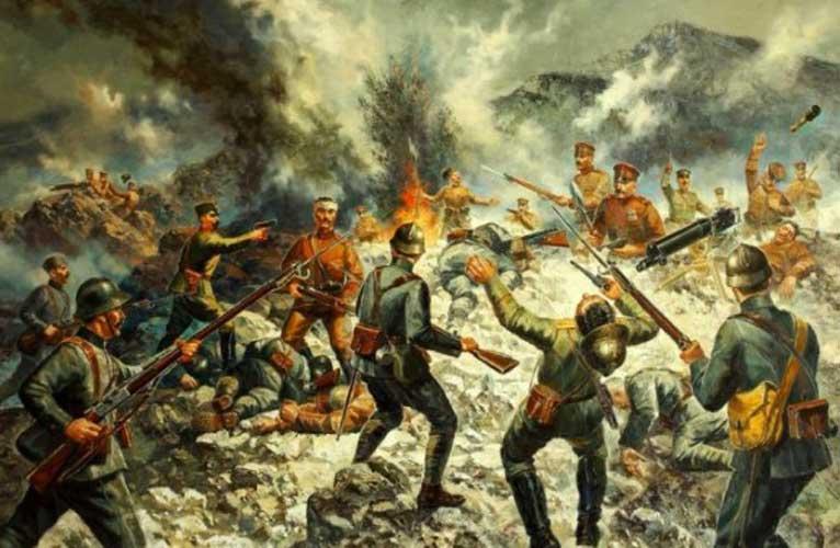 Битката при Каймакчалан