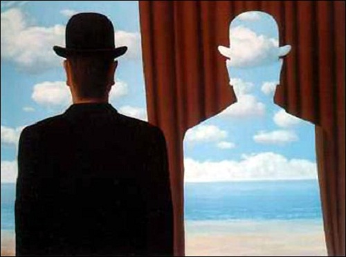 Decalcomania 1966. Mysterious paintings by Rene Magritte