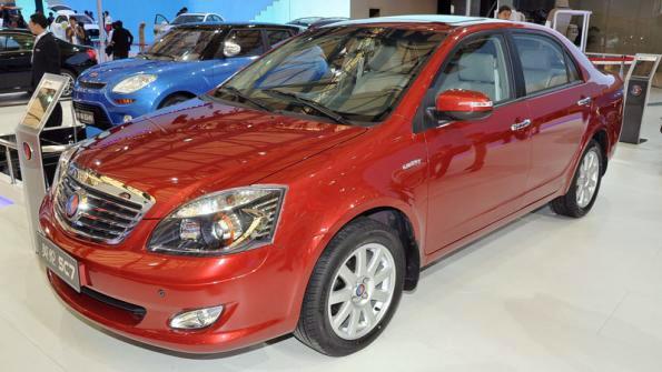 Китайские автомобили Geely будут собирать в Беларуси Мы