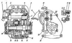 Схема механизма