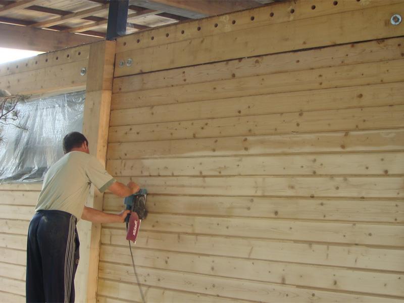 Отделка дома из профилированного бруса и грамотная подготовка древесины