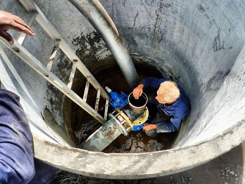 Вырыть колодец на даче и проведение водопровода в дом