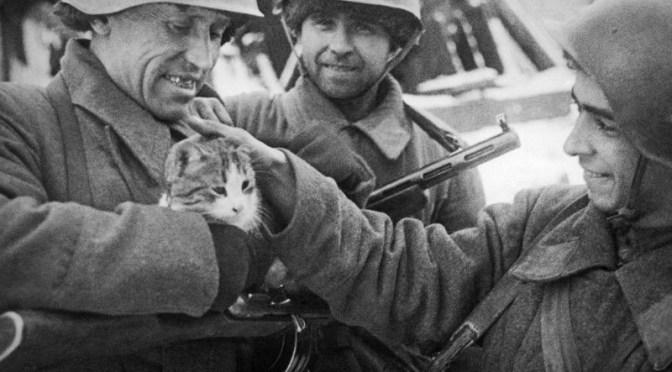 русские солдаты во время войны