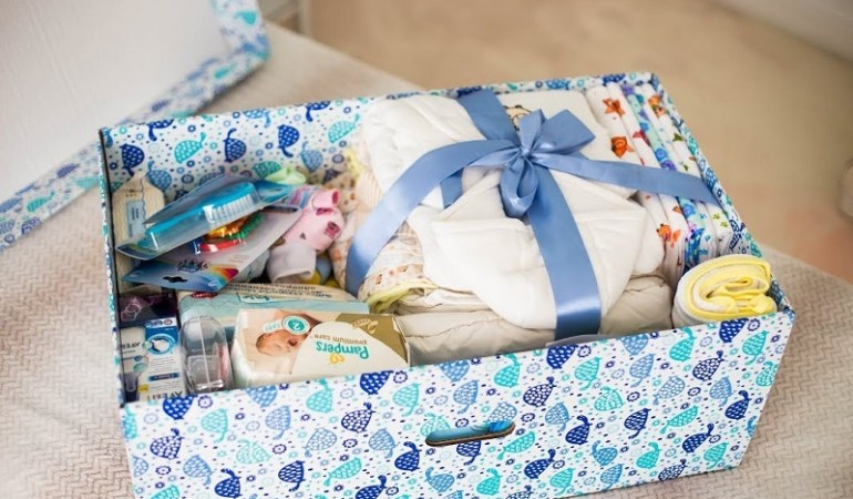Корзину новорожденного